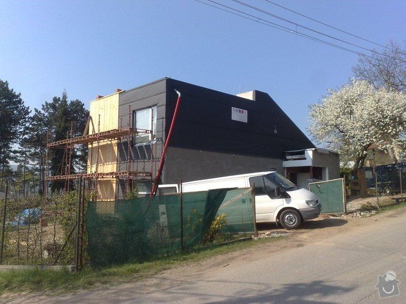 Dřevěný obklad rodinného domu: 18042011697