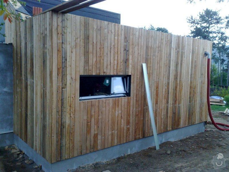 Dřevěný obklad rodinného domu: 29042011714