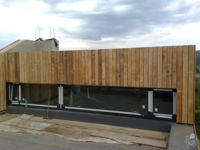 Dřevěný obklad rodinného domu: 30042011720