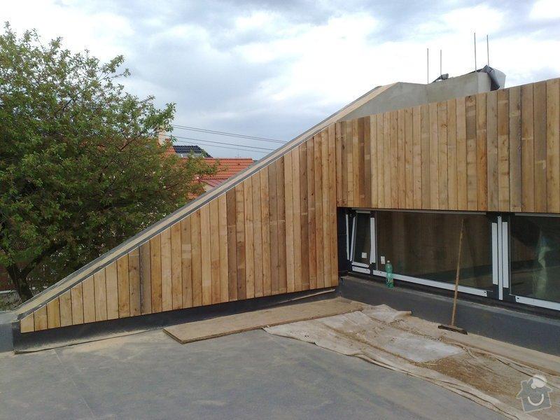 Dřevěný obklad rodinného domu: 30042011718