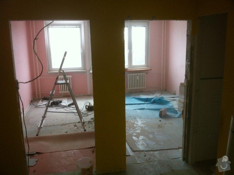 Kompletní rekonstrukce panelového bytu 4+1: haje00