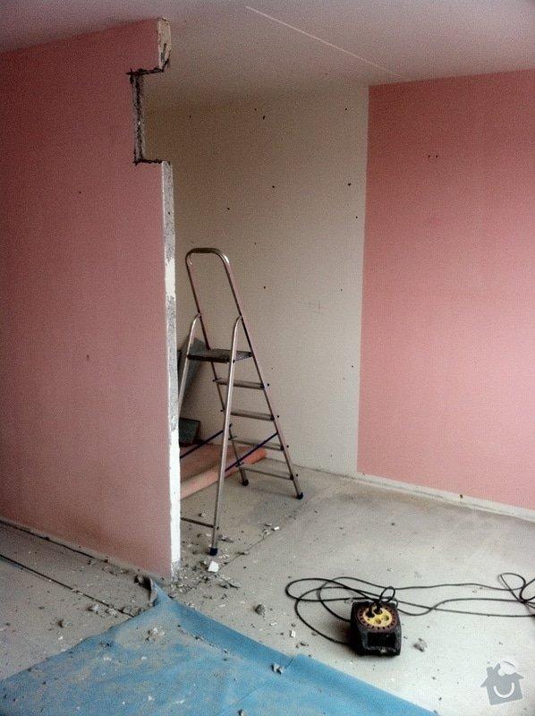Kompletní rekonstrukce panelového bytu 4+1: haje01