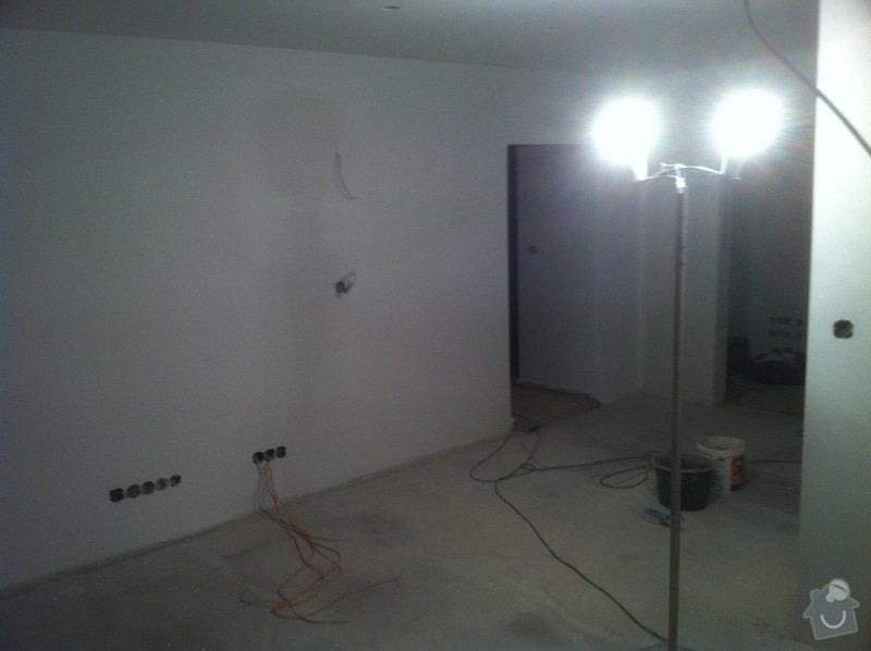 Kompletní rekonstrukce panelového bytu 4+1: haje09