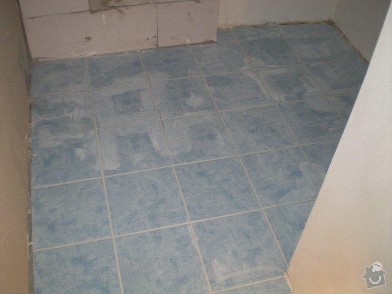 Výstavba nové koupelny a rekonstrukce kuchyně: P1010279