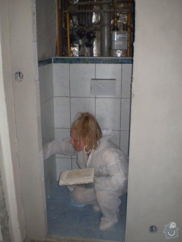 Výstavba nové koupelny a rekonstrukce kuchyně: P1010281