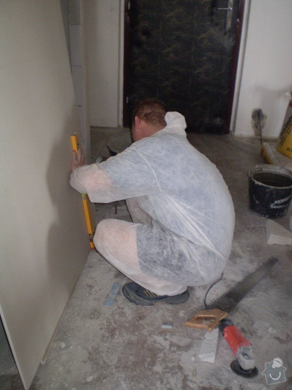 Výstavba nové koupelny a rekonstrukce kuchyně: P1010264