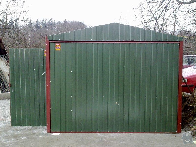 Plechová montovaná garáž: www.garaze.vyrobce.cz22