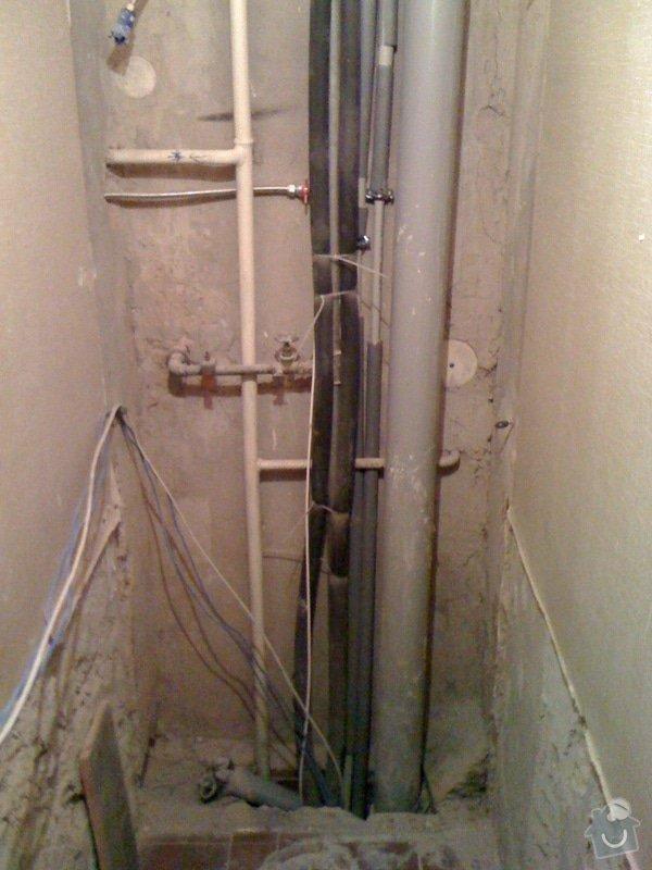 Rekonstrukce koupelny a wc v rodiném domě: IMG_1392