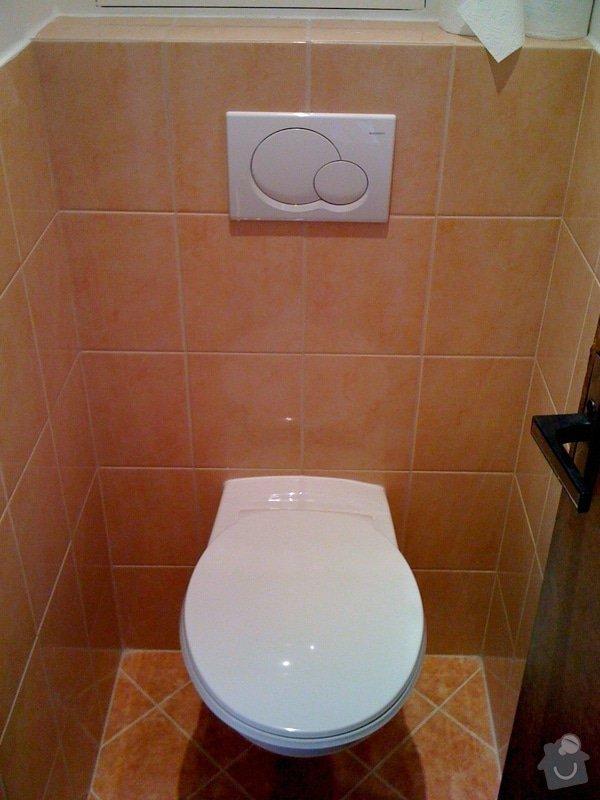 Rekonstrukce koupelny a wc v rodiném domě: IMG_1433