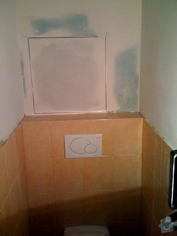 Rekonstrukce koupelny a wc v rodiném domě: IMG_1414
