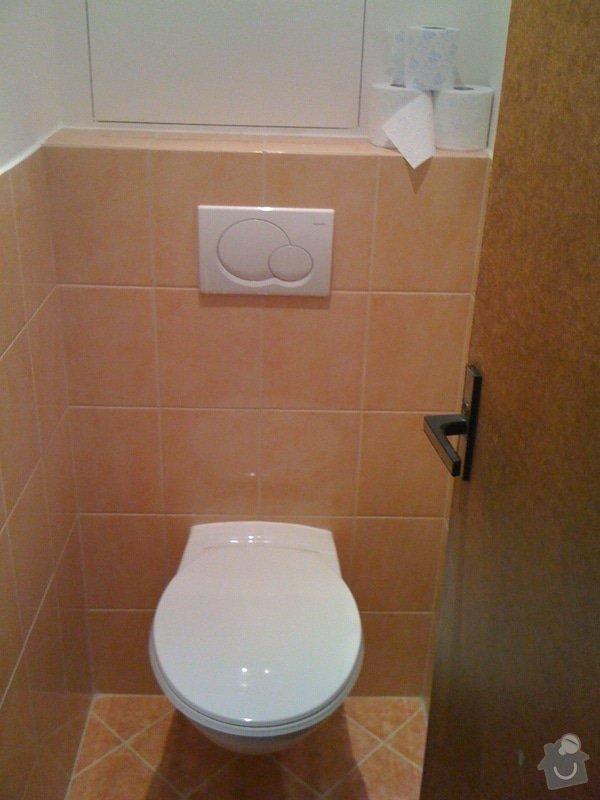 Rekonstrukce koupelny a wc v rodiném domě: IMG_1432