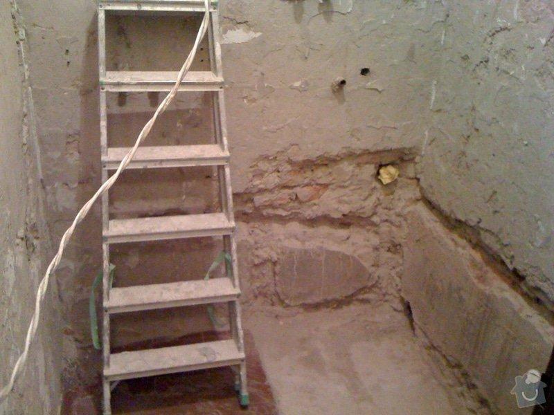 Rekonstrukce koupelny a wc v rodiném domě: IMG_1397