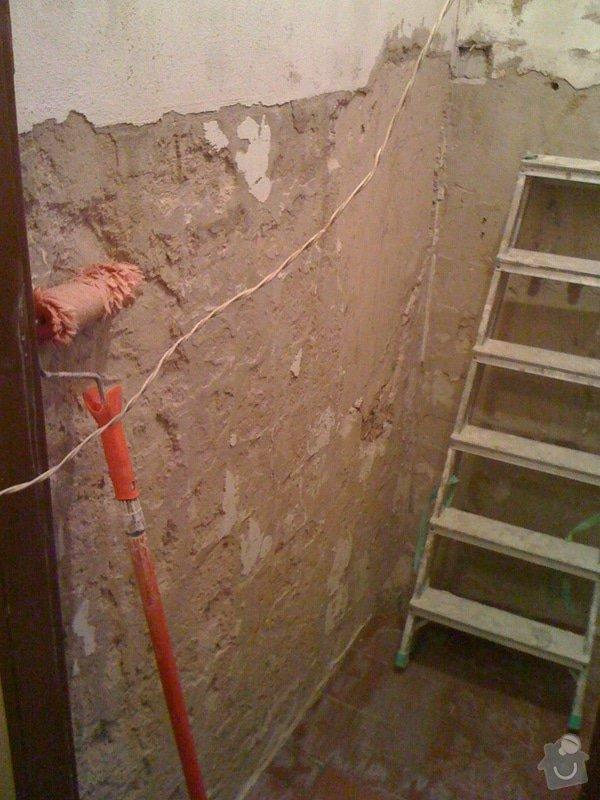 Rekonstrukce koupelny a wc v rodiném domě: IMG_1395