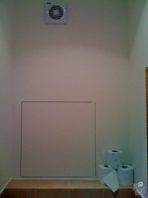 Rekonstrukce koupelny a wc v rodiném domě: IMG_1434
