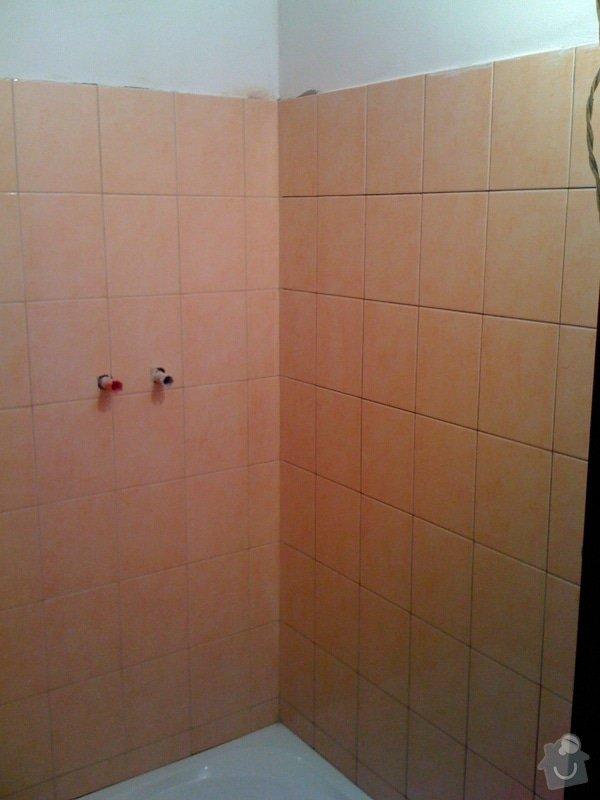 Rekonstrukce koupelny a wc v rodiném domě: IMG_1419