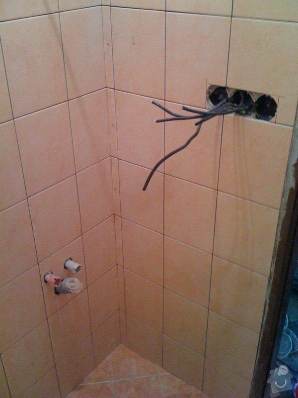 Rekonstrukce koupelny a wc v rodiném domě: IMG_1420