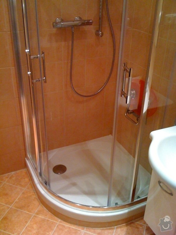 Rekonstrukce koupelny a wc v rodiném domě: IMG_1425