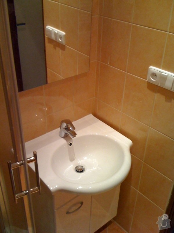 Rekonstrukce koupelny a wc v rodiném domě: IMG_1427