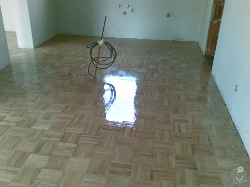 Dodávka nové dubové mozaiky a pokládky : 25102008_001_