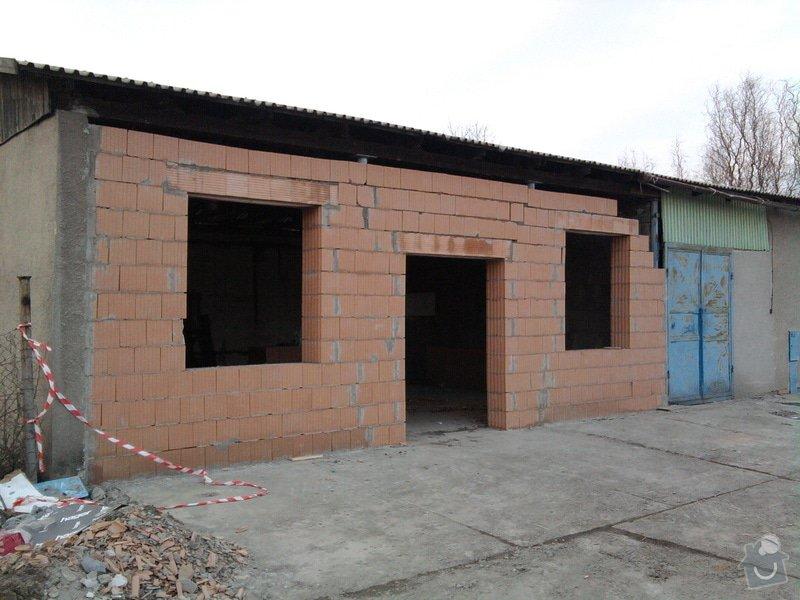 Přístavba kovárny v areálu ČD: Fotografie0055