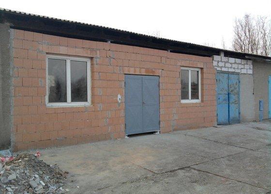 Přístavba kovárny v areálu ČD