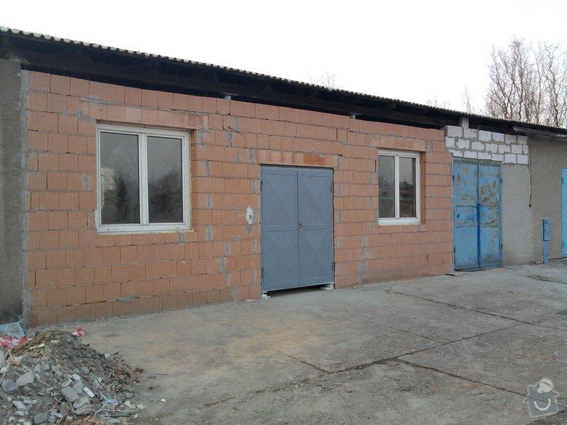 Přístavba kovárny v areálu ČD: Fotografie0061