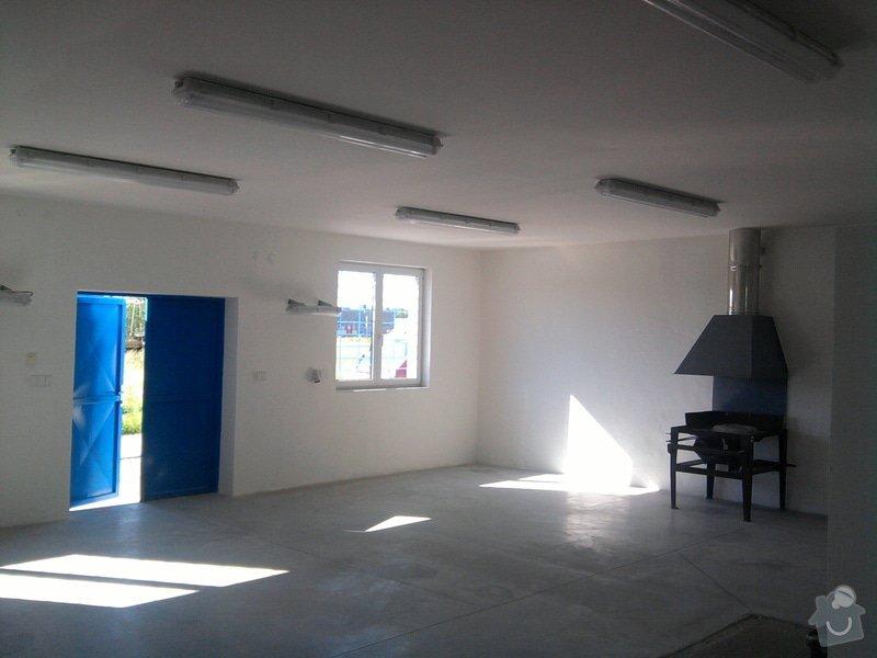 Přístavba kovárny v areálu ČD: Fotografie0198_001