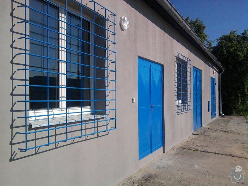 Přístavba kovárny v areálu ČD: Fotografie0195_001