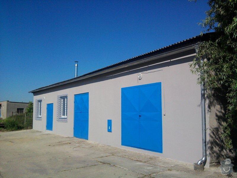 Přístavba kovárny v areálu ČD: Fotografie0200_001