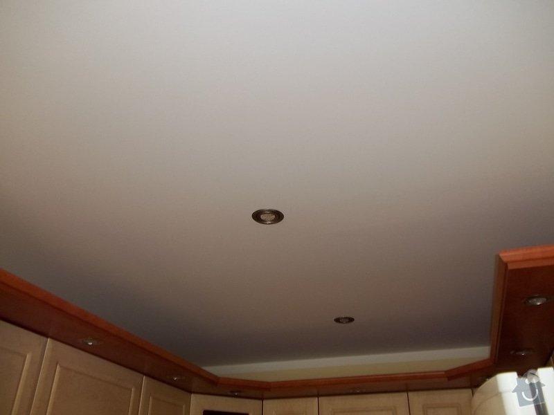Snížení stropu a oprava stávajícího podhledu z SDK: 104_0025