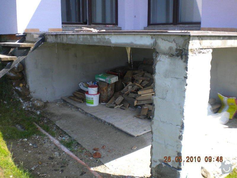 Zaizolování venkovní terasy a znovu položení dlaždic: DSCN1347