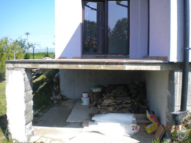 Zaizolování venkovní terasy a znovu položení dlaždic: DSCN1349