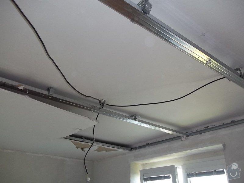 Oprava špatně namontovaného sníženého SDK podhledu, provedeného jinou firmou. : 104_0133