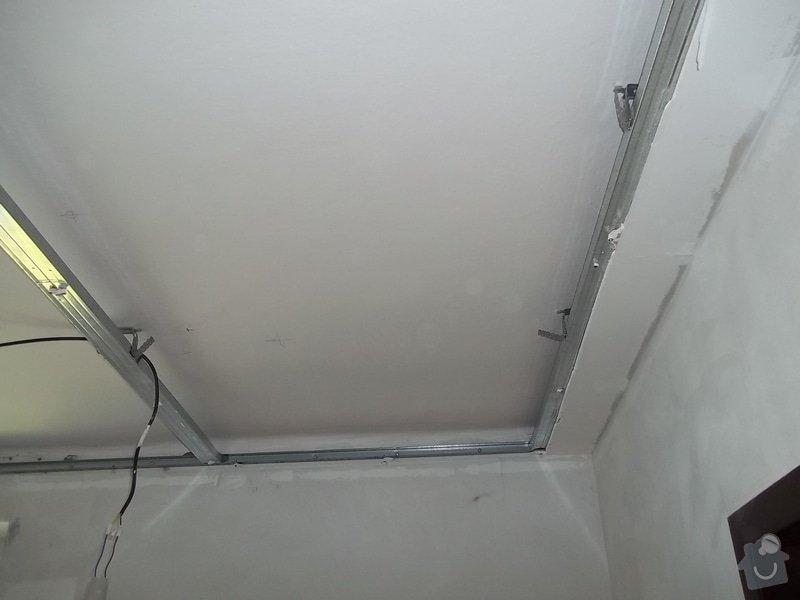 Oprava špatně namontovaného sníženého SDK podhledu, provedeného jinou firmou. : 104_0134