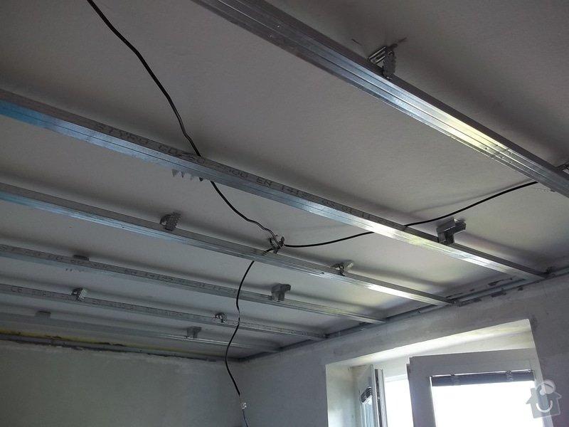 Oprava špatně namontovaného sníženého SDK podhledu, provedeného jinou firmou. : 104_0137