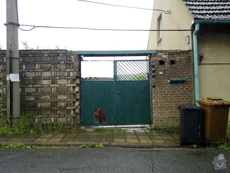 Vjezdová brána, vrata: 15052011738.1