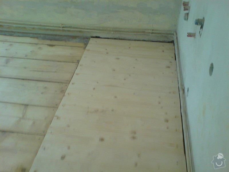 Renovace dubových parket a smrkové podlahy : DSC01747