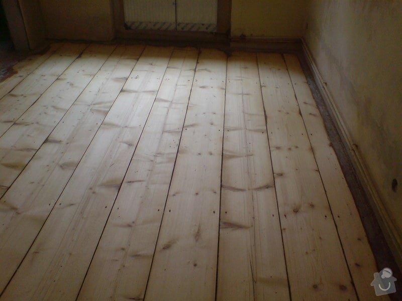 Renovace dubových parket a smrkové podlahy : DSC01748