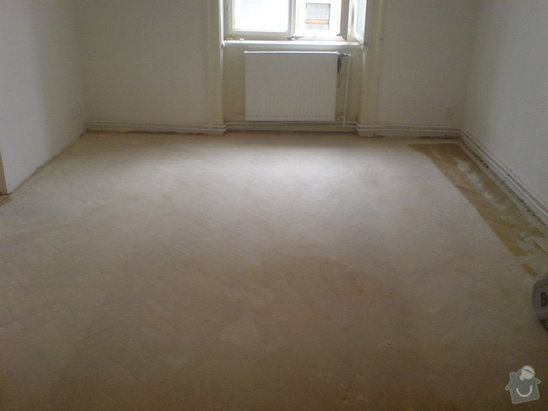Renovace dubových parket a smrkové podlahy : DSC01861