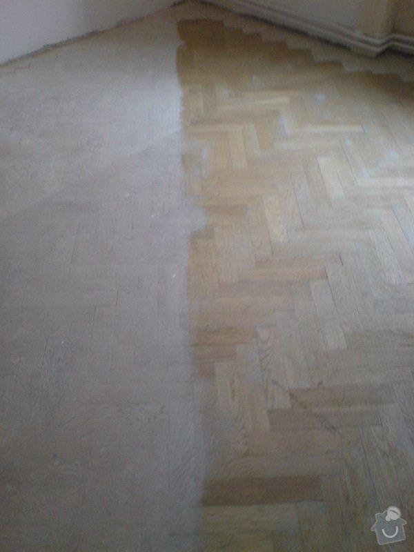 Renovace dubových parket a smrkové podlahy : DSC01862