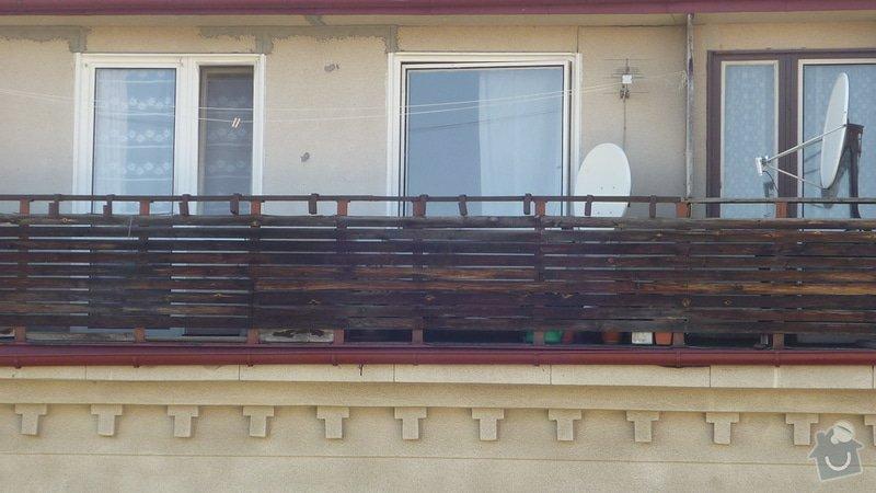 Výměna dřevěného zábradlí na balkóně: balkon_2_