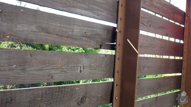 Výměna dřevěného zábradlí na balkóně: balkon_1_