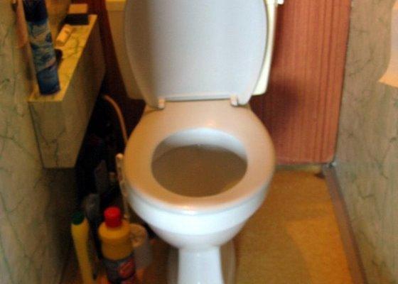 Výměna záchodu