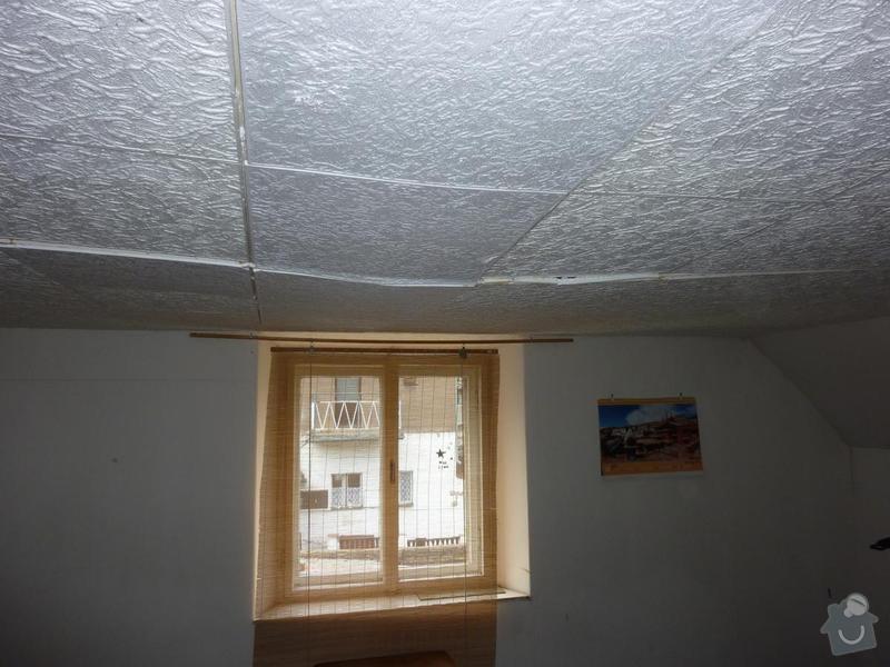 Rekonstrukce stropu a podlahy  v půdním prostoru: P1020514