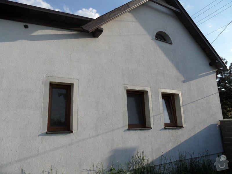 Doúprava fasády, špalet,soklu a malba fasády: SAM_1027