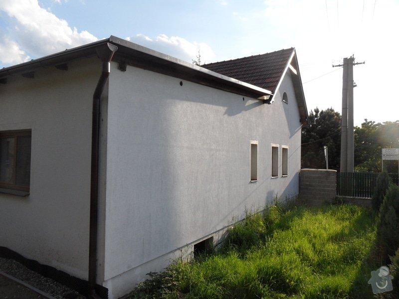 Doúprava fasády, špalet,soklu a malba fasády: SAM_1028