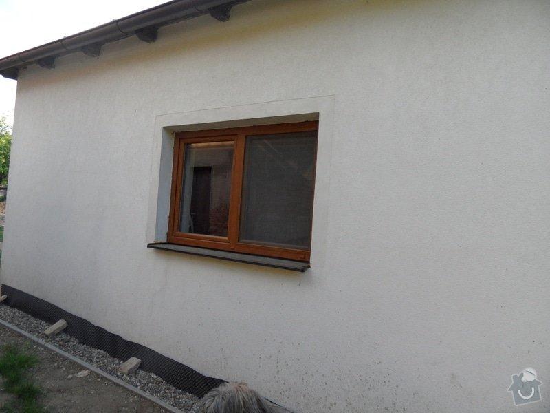 Doúprava fasády, špalet,soklu a malba fasády: SAM_1029