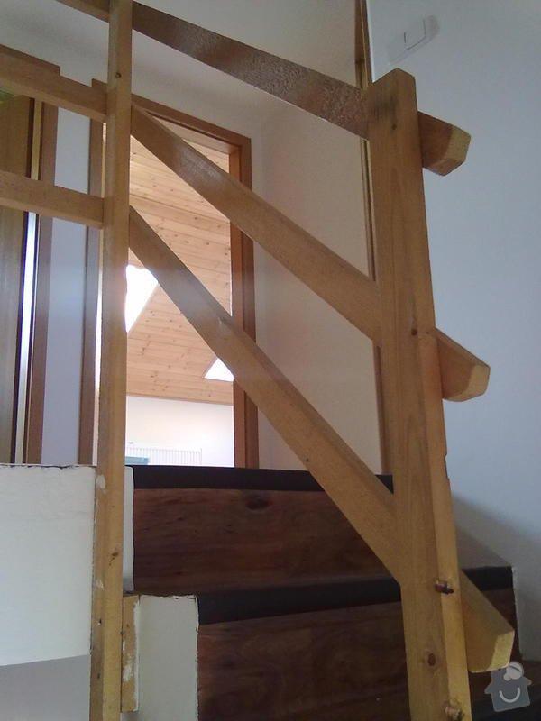 Zábradlí na schodiště do rodinného domu: 18052011152