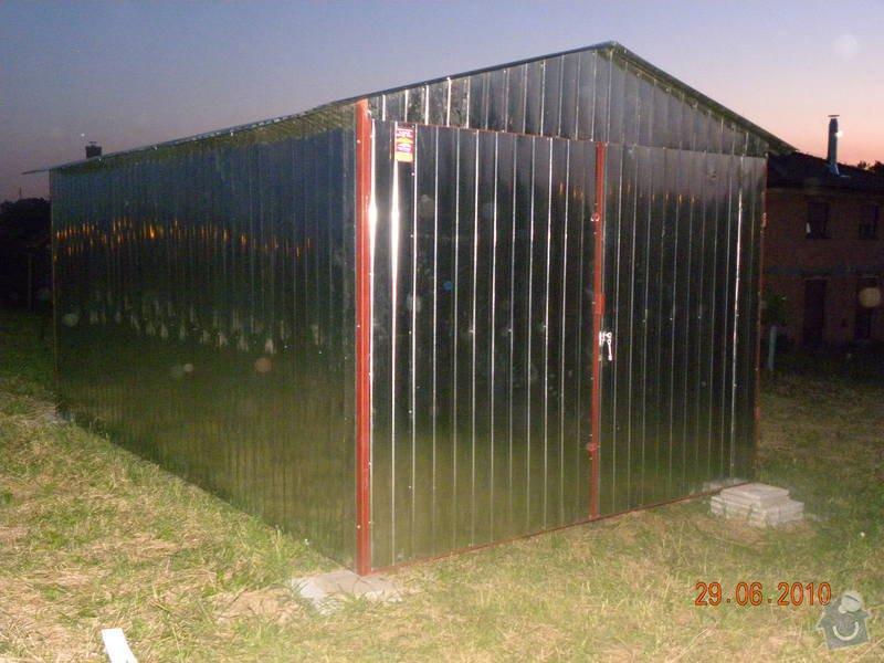 Plechová garáž: DSCN0594
