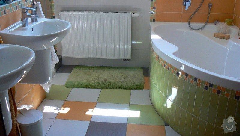 Výstavba RD - rozvody vody, vnitřní kanalizace, topení, dodávka a montáž zařizovacích předmětů, vzduchotechnika: R_P1030274